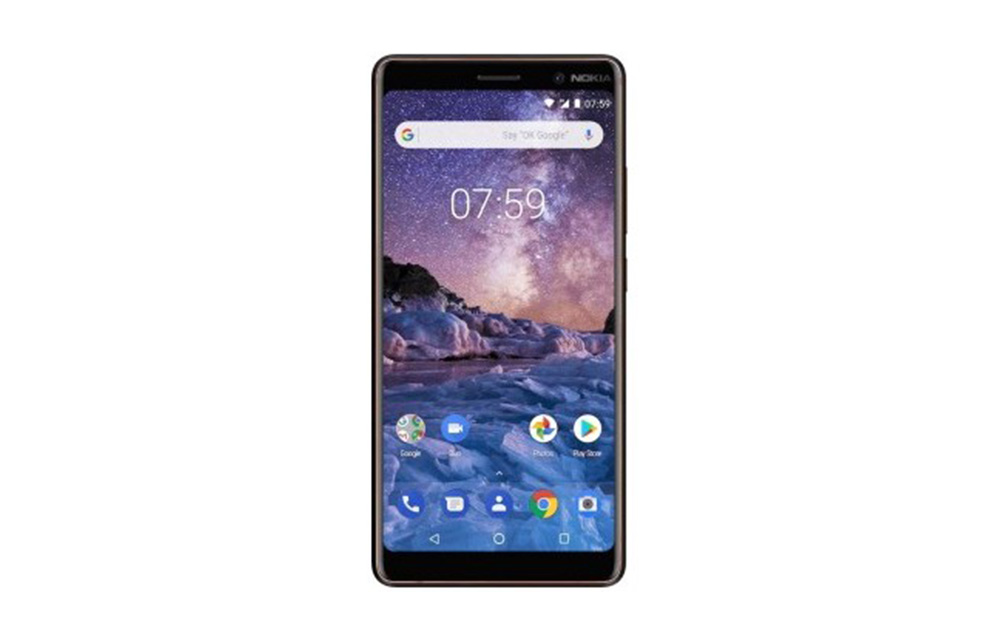 Nokia 7 Plus Display